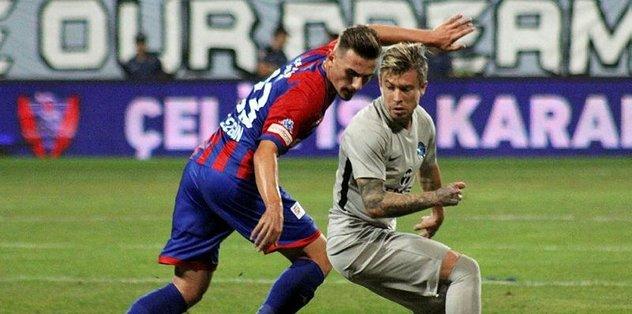 Adana Demirspor, deplasmanda Kardemir Karabükspor'u 1-0 mağlup etti