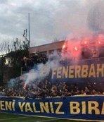 Fenerbahçe taraftarından Samandıra'ya çıkarma