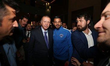Başkan Erdoğan'dan Paşa'ya ziyaret