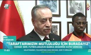 """Mustafa Cengiz: """"Taraftarımız için buradayız"""""""