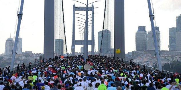 Vodafone 39. İstanbul Maratonu başladı!