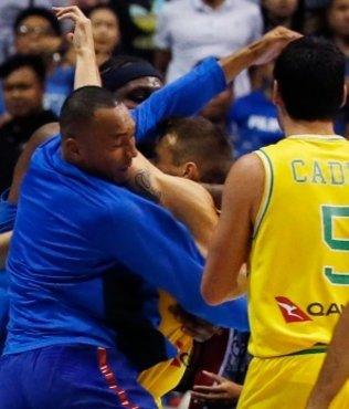 FIBA bans players over basketball brawl