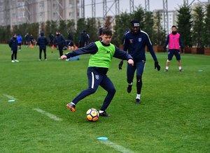 Başakşehir'de Trabzonspor maçı hazırlıkları