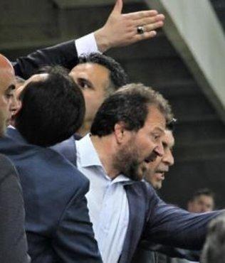 MKE Ankaragücü taraftarı ile Başkan Mehmet Yiğiner arasında gerginlik