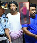 İşte Ronaldinho'nun hapishaneden paylaşılan o fotoğrafı!