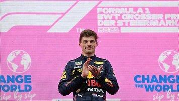 F1 Steiermark Grand Prix'sinde zafer Max Verstappen'in