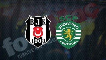 Beşiktaş - Sporting Lizbon maçı saat kaçta? Hangi kanalda?