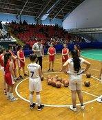 Geleceğin basketbolcularını seçmek için Manisa'ya geldiler