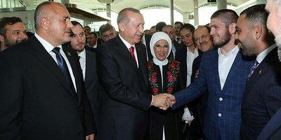 "Başkan Erdoğan: ""Hamza sonra Khabib'i bana getir"""
