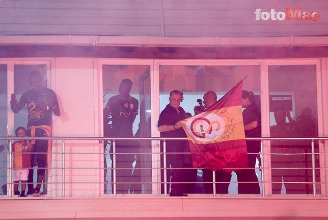 Galatasaray taraftarı ile Denizlispor taraftarı birbirine girdi