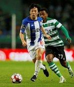 Sporting Lizbon Portekiz liginde Porto'ya kaybetti