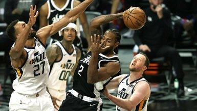 NBA'de Los Angeles Clippers'dan Utah Jazz karşısında kritik galibiyet!