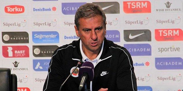 Gençlerbirliği Teknik Direktörü Hamzaoğlu'ndan Fenerbahçe maçı değerlendirmesi