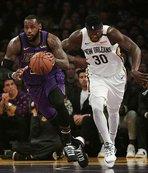 Lakers, LeBron James'le kazandı