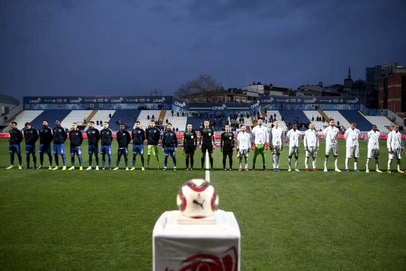 Kasımpaşa - Alanyaspor maçından kareler