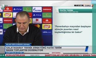 Fatih Terim'den maç sonu flaş transfer açıklaması