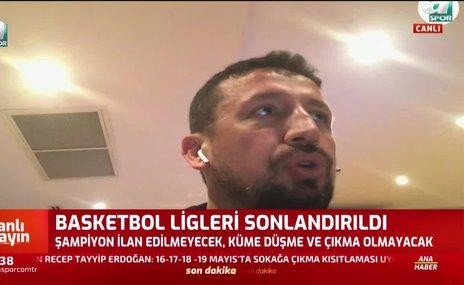 Hidayet Türkoğlu: Hepimizin amacı insan sağlığı