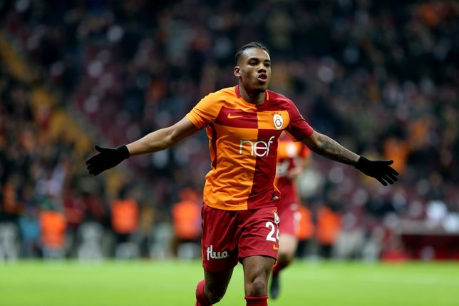 Galatasarayın en değerli oyuncusu Garry Rodrigues