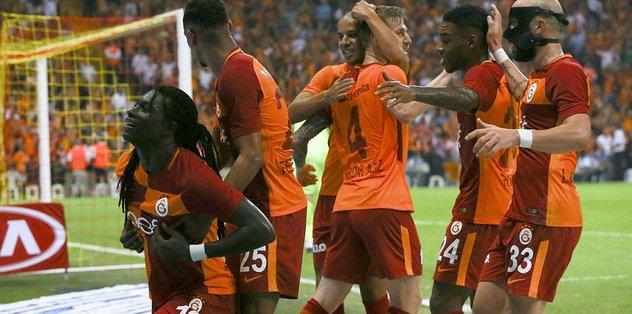 G.Saray'da 13 puan 13 golle geldi