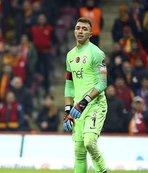 Galatasaray'da Muslera'dan penaltı sitemi