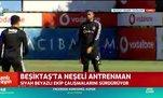 İşte Kevin Prince Boateng'in Beşiktaş'taki ilk idmanı!