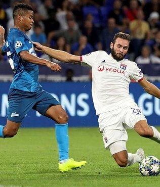 Lyon, Zenit ile yenişemedi