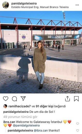 Galatasarayın transferini yeni yenge Pan Idalgo Teixeira açıkladı