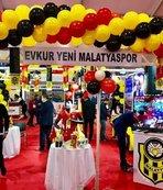 E. Yeni Malatyaspor standına yoğun ilgi