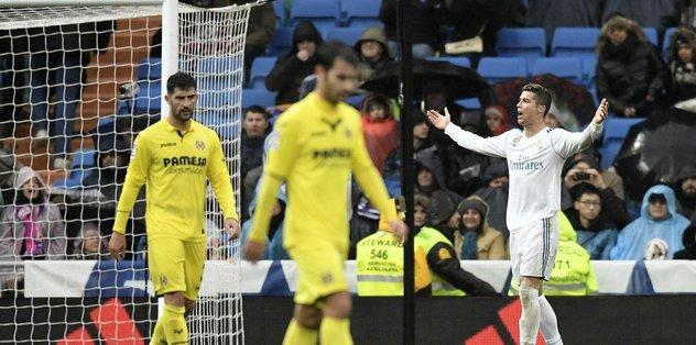 Enes Ünal'lı Villareal, R.Madrid'i deplasmanda yendi