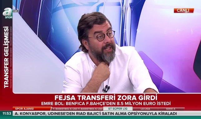 Emre Bol: Fenerbahçe'nin Fejsa transferi zora girdi