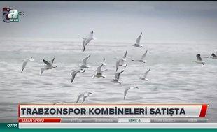 Trabzonspor kombineleri satışta