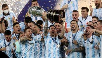 Arjantin Brezilya'yı devirip şampiyon oldu!