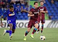 Getafe - Trabzonspor maçından kareler...
