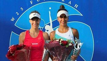 International Women Tennis Open'daşampiyon Çağla Büyükakçay!