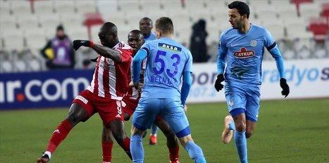 Sivasspor salvage draw with stoppage time goal