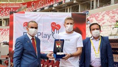 Sivassporlu Pedro Henrique Fair Play ödülü aldı! İşte sebebi...