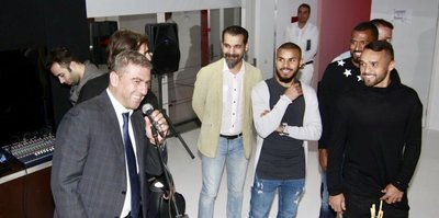Antalyaspor yemekte buluştu
