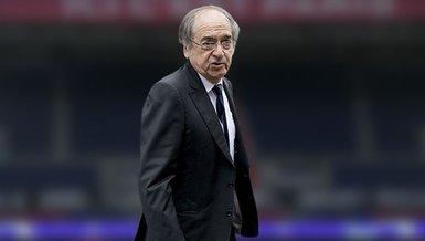 """Fransa Futbol Federasyonu Başkanı Noel Le Graet ırkçı söyleme tepki gösterdi! """"Statlarda yeri yok"""""""