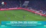 Trabzonspor Ziraat Türkiye Kupası'nda avantajı kaptı!