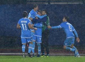 San Marino'dan tarihi gol! ''Sevinçten ülke karıştı''