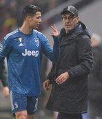 Ronaldo ile Sarri arasında soğuk rüzgarlar!