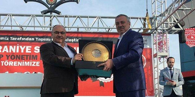 Ümraniye Şehir Stadyumu açıldı