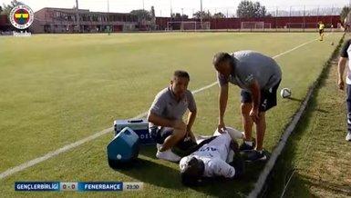 Son dakika spor haberleri: Gençlerbirliği Fenerbahçe maçında Mbwana Samatta sakatlandı!