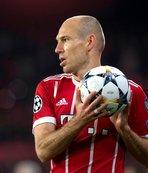 Arjen Robben sezonun ilk yarısını kapattı