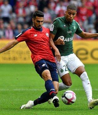 Zeki Çelik'li Lille, Saint-Etienne'i mağlup etti