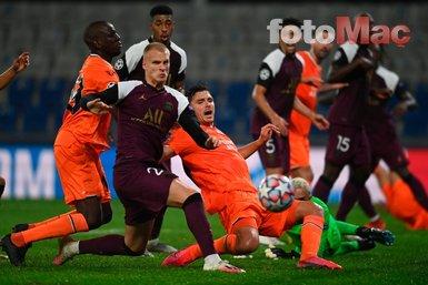 Fransız basınından Başakşehir-PSG maçı yorumu! Ezildiler şaşkına döndüler!