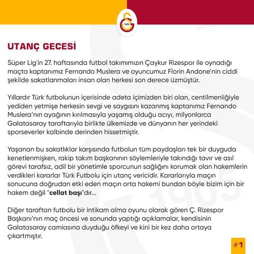 son dakika galatasaraydan caykur rizespor maci sonrasi hakem aciklamasi 1592227433659 - Son dakika: Galatasaray'dan Çaykur Rizespor maçı sonrası hakem açıklaması!