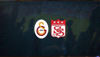 Zorlu sınav! Galatasaray - Sivasspor maçı ne zaman, saat kaçta ve hangi kanalda canlı yayınlanacak? | Süper Lig