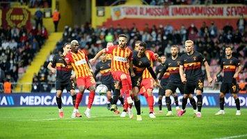 Galatasaray suffer shock 3-0 defeat against Kayserispor