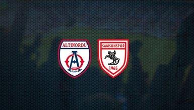 Altınordu - Samsunspor maçı ne zaman? Saat kaçta? Hangi kanalda?